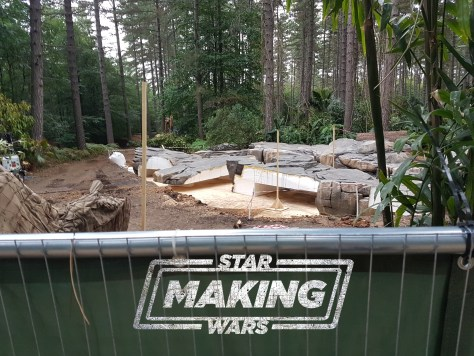 Updated: Star Wars: Episode IX Black Park Location 2 jungle set photos! New progress photo and report!