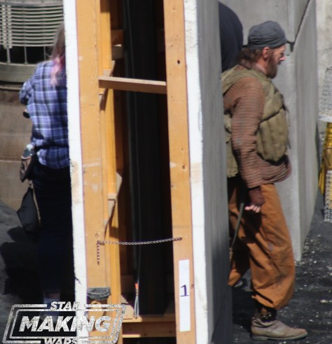 Photos of a likely cast member from The Mandalorian, an extra, Huckleberry super confirmed, and more!