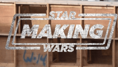 Photo of Exclusive video and photos of a vehicle being moved on the set of Star Wars' The Mandalorian!