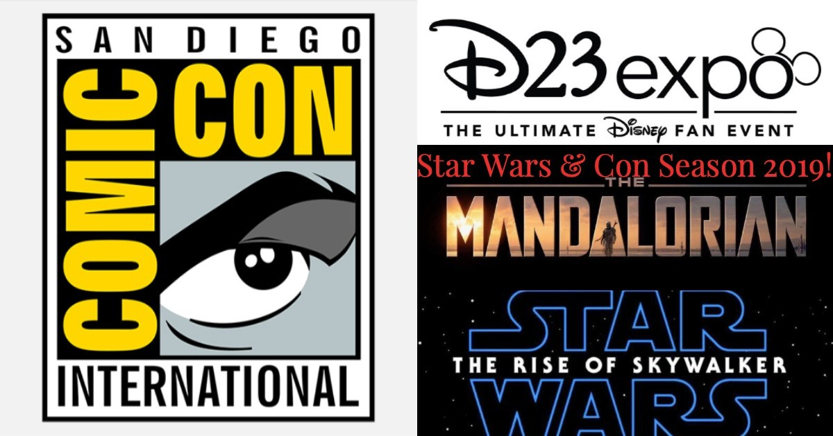 Star Wars and Con Season 2019! The Rise of Skywalker and The