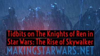 "Photo of Tidbits on ""The Knights of Ren"" in Star Wars: The Rise of Skywalker!"