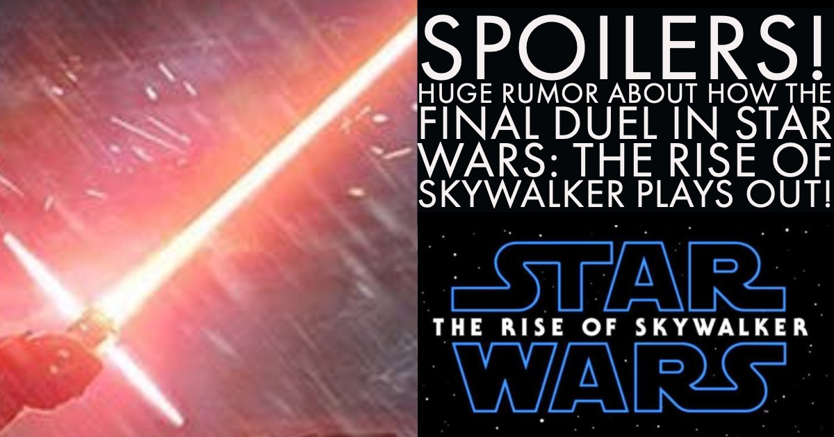 Huge RUMOR about how the final duel in Star Wars: The Rise