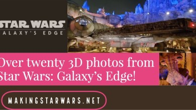 Photo of Over twenty 3D photos from Star Wars: Galaxy's Edge!