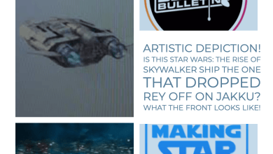 Photo of Artistic depiction! Is this Star Wars: The Rise of Skywalker ship the one that dropped Rey off on Jakku?