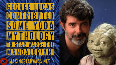 "Photo of Rumor: George Lucas contributed some ""Yoda"" mythology to Star Wars: The Mandalorian?"