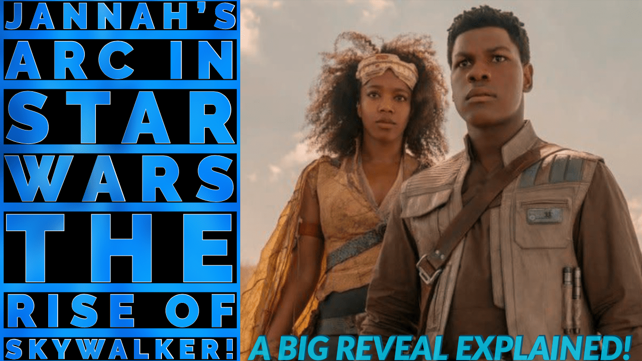 Photo of The Jannah Connection in Star Wars: The Rise of Skywalker!