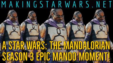 Photo of Spoilers! A Star Wars: The Mandalorian Season 3 epic Mando moment!