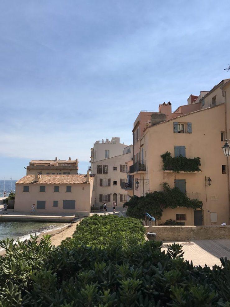 St. Tropez streets