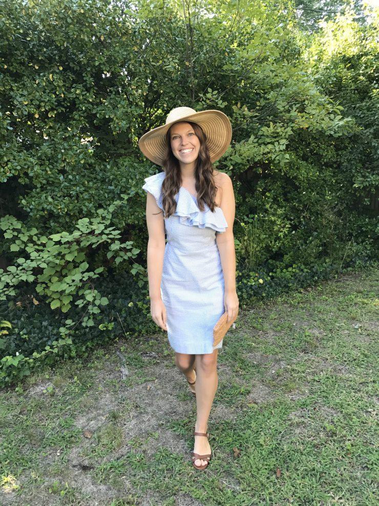 Garden Party: My Favorite Seersucker Dress