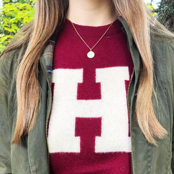 Harvard Sweater