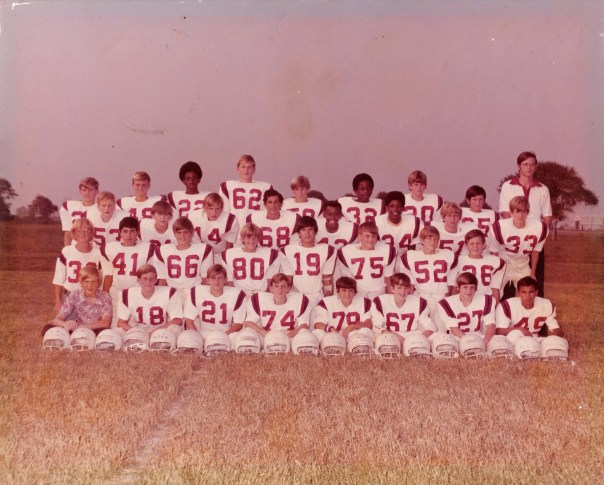 Dulles Jr. High Vikings - seventh grade gold - can you find me?