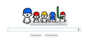Google's summer doodle - check it out!