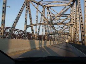 crossing the mighty Mississippi, for a second time