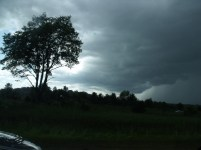 clouds along US 131 north of Grand Rapids