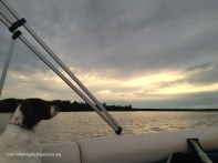 on the lake with Ivy, Bis the captain