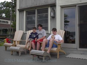 W, John, Sam, and O