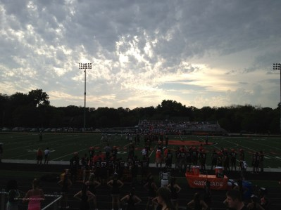 Friday evening sophomore game