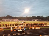 Saturday night varsity game