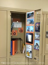 O's finished locker - all it needs are books