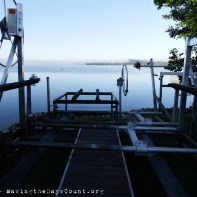 the big boat lift and the lake