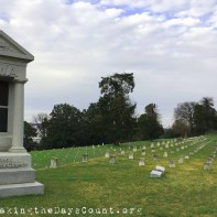 Vicksburg National Cemetery - of the 18,244 interred, 12,954 are unknown - unnamed