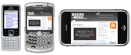 makingthemogul.com is now available on your mobile broswer