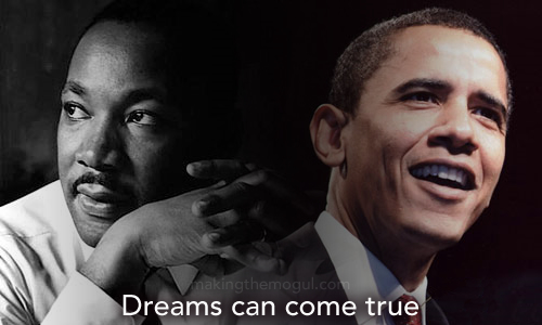 Martin Luther King Jr. & Barack Obama - Dreams Can Come True
