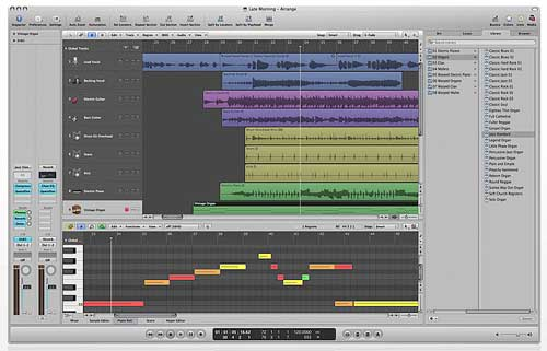 Music production software, Logic Pro