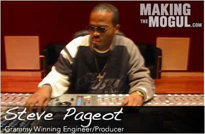 Grammy Winning Engineer & Producer, Steve Pageot