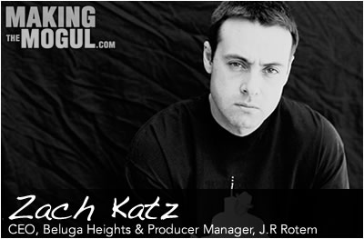 J.R Rotem's Manager & CEO of Beluga Heights, Zach Katz