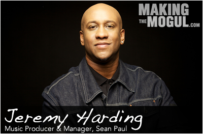 Dancehall Producer & Manager, Jeremy Harding