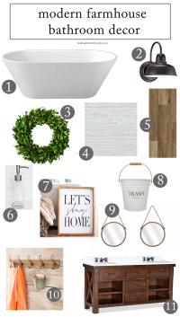 How to Create a Stunning Modern Farmhouse Bathroom