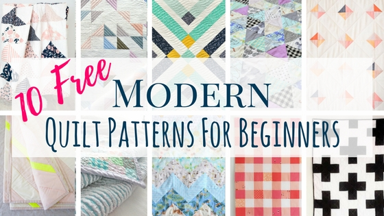 40 Free Modern Quilt Patterns For Beginners Making Things Is Awesome Amazing Free Quilting Patterns