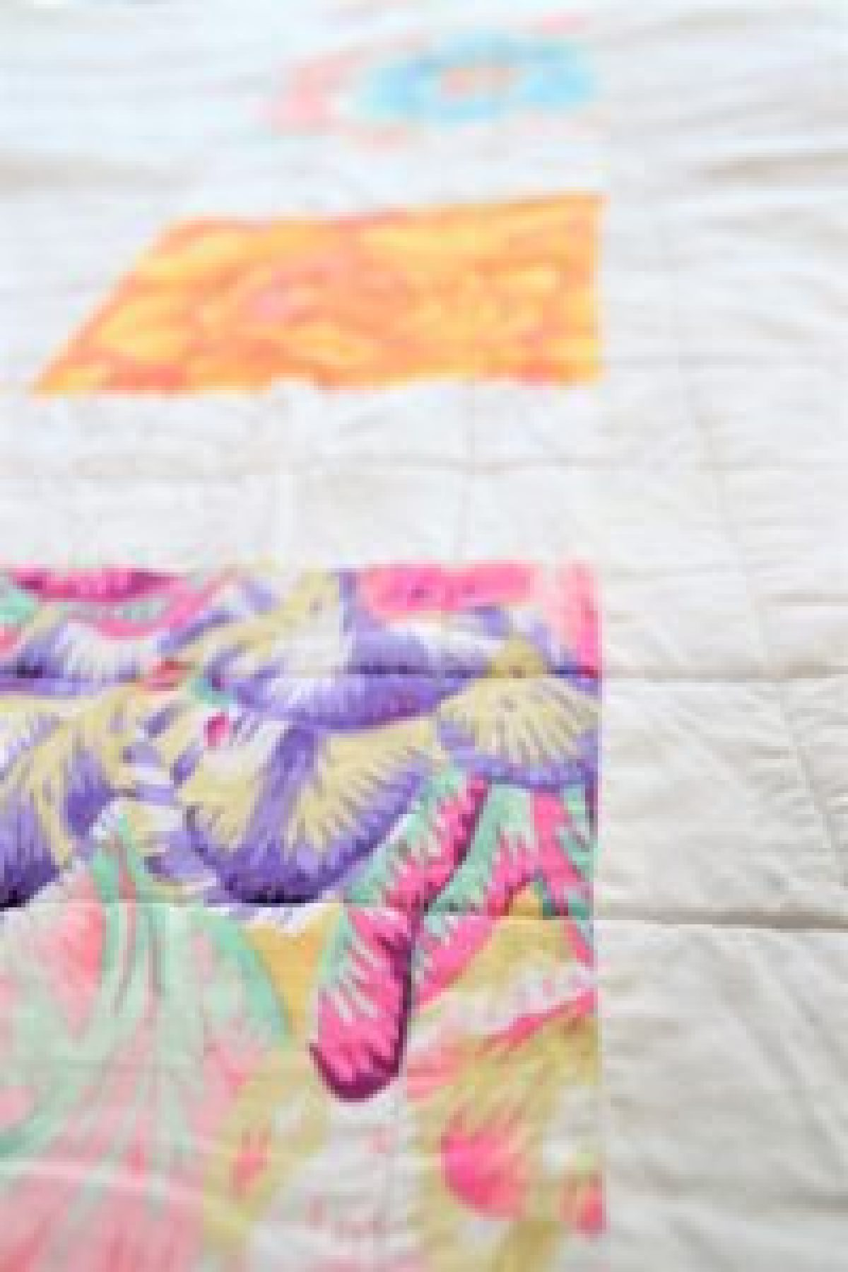 DIY Checkered Quilt
