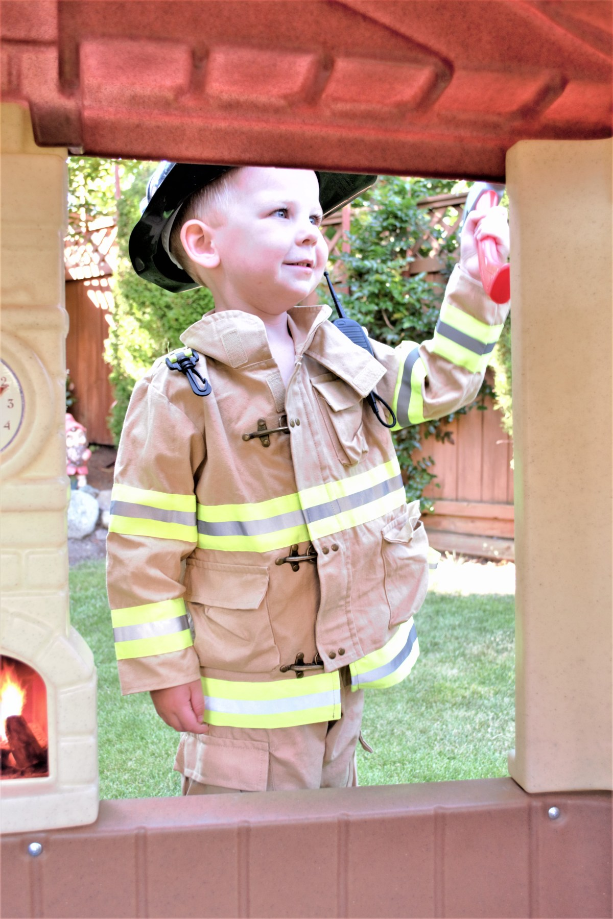 Kid Fire Fighter Costume