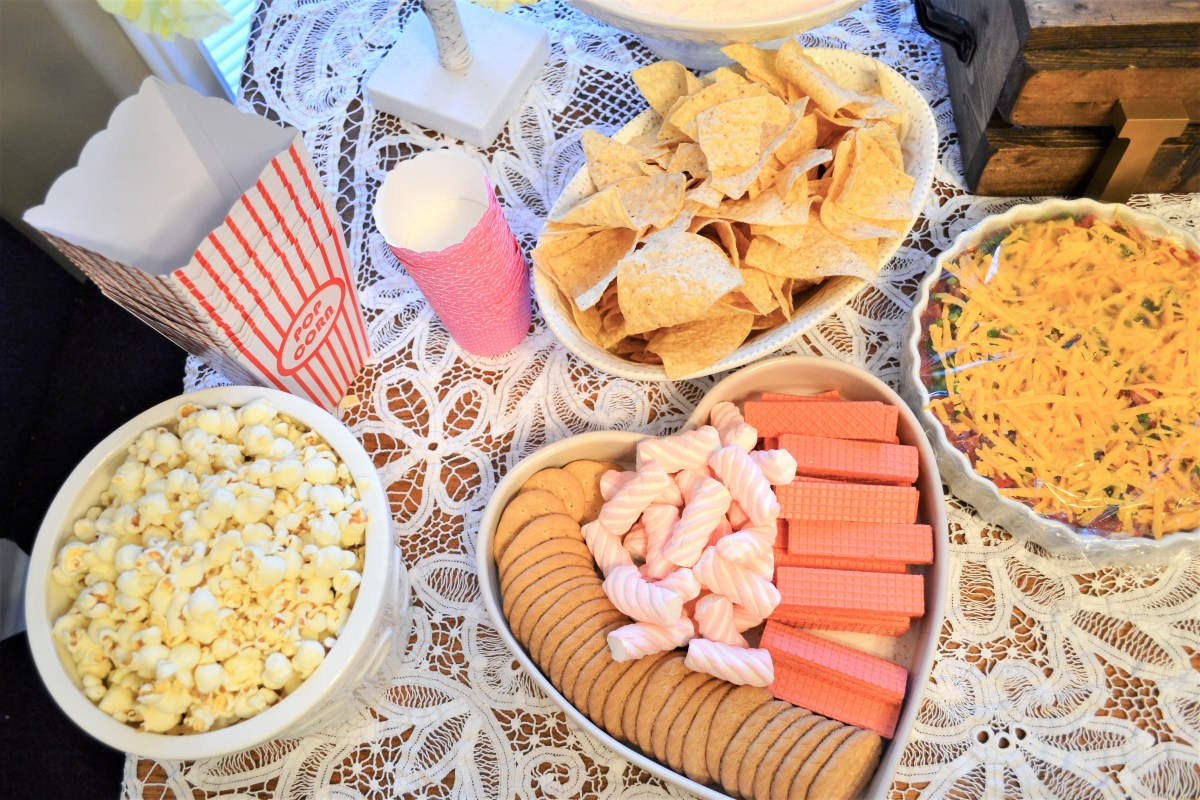 Baby Doll Party Theme - snacks