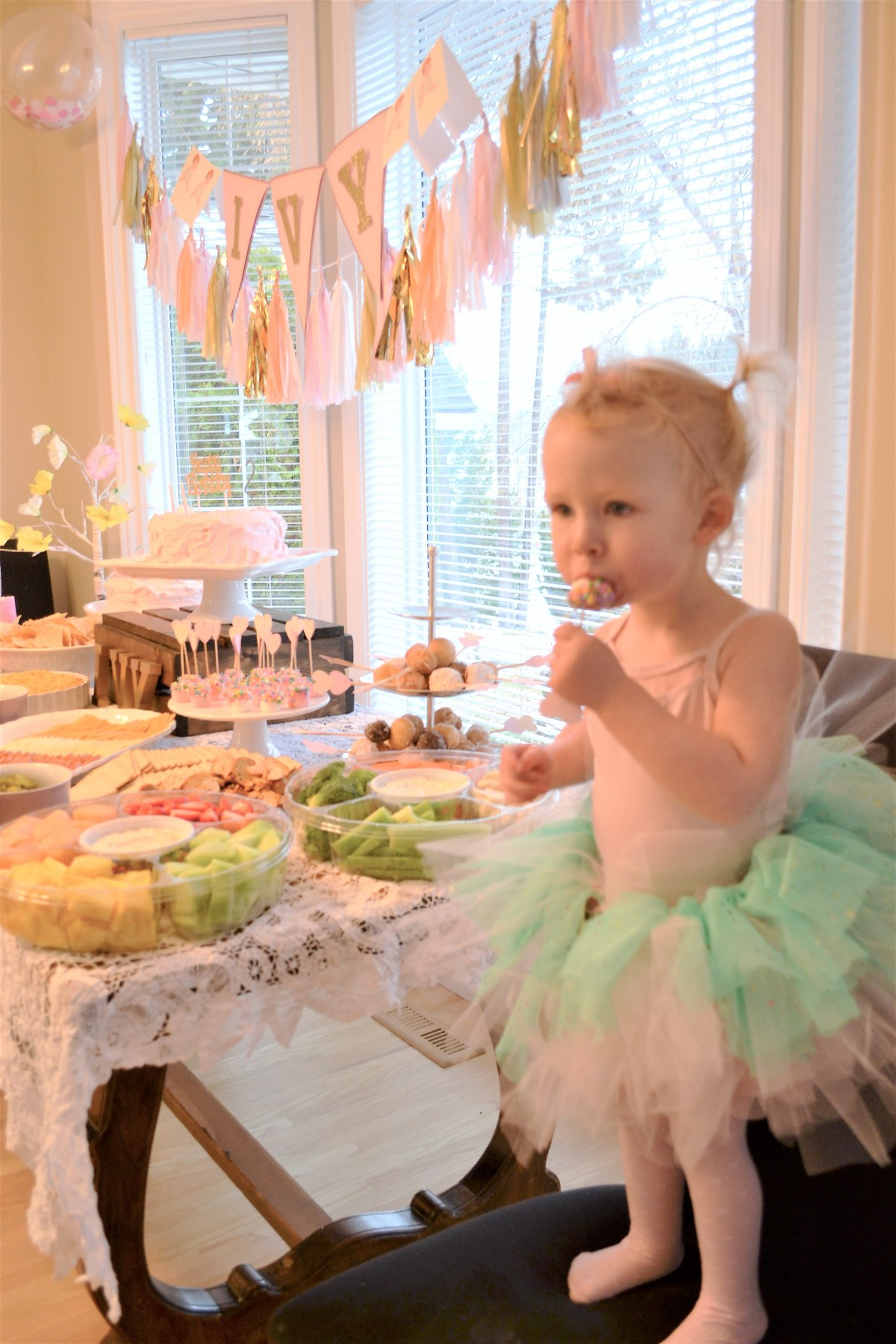 Baby Doll Party Theme For Little Miss Ivy Lynnkins 2nd