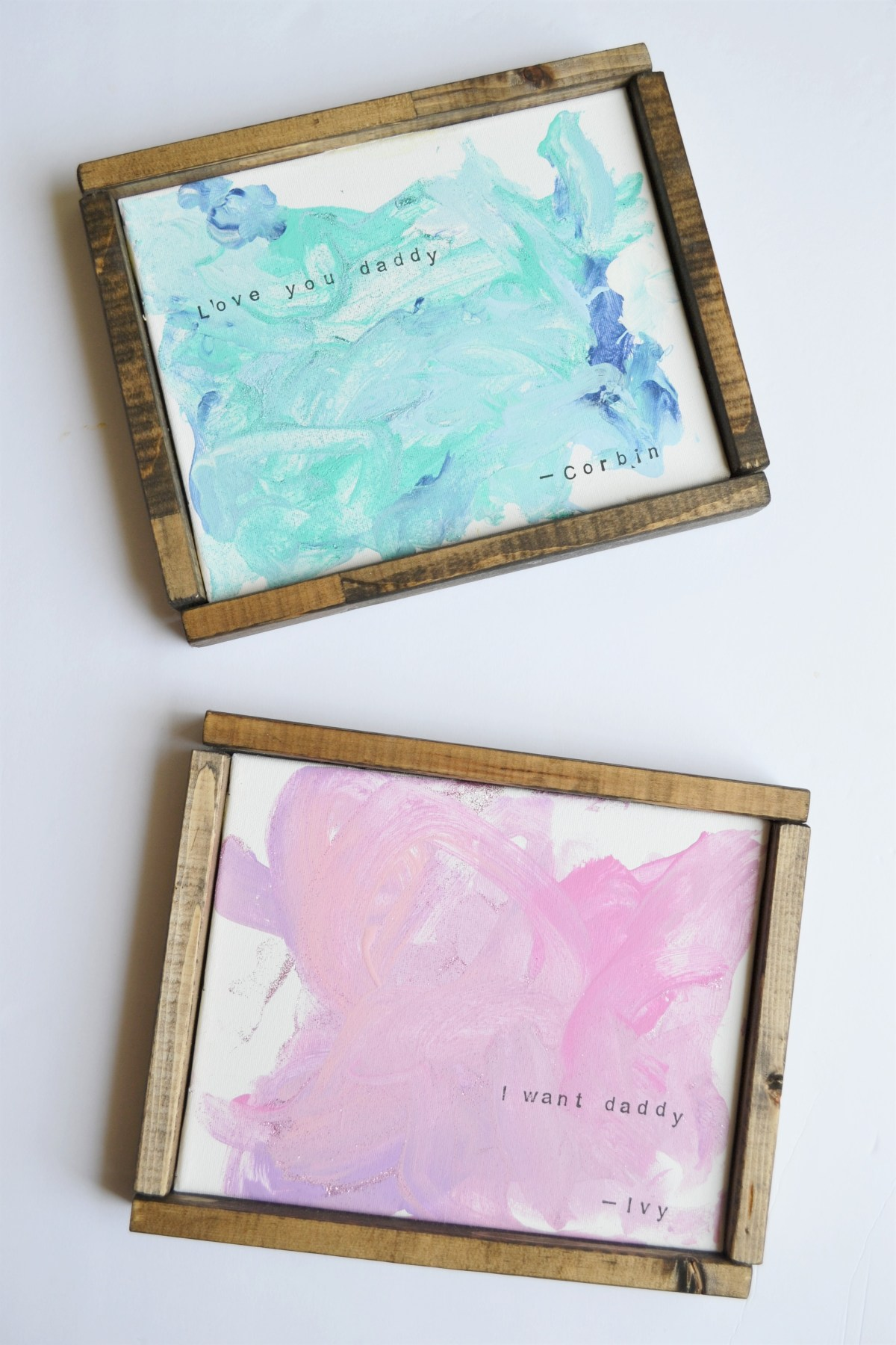 Canvas Painting Ideas For Kids With Easy DIY Frames