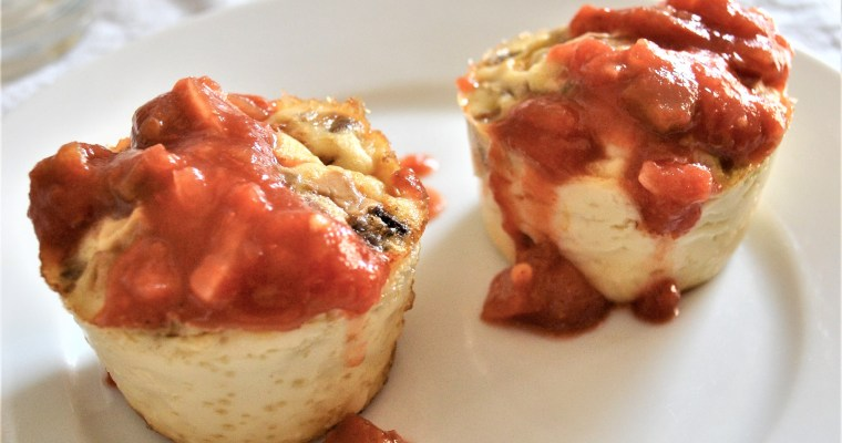 Veggie Egg Whites Cooked In a Muffin Tin – A Weight Loss Breakfast Recipe!