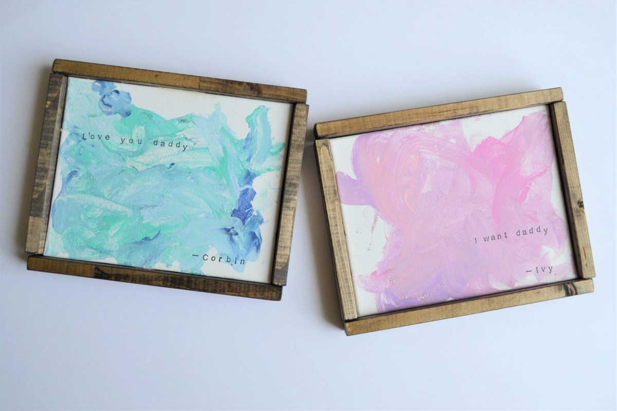 Canvas Painting Ideas For Kids With Easy Diy Frames Making Things Is Awesome
