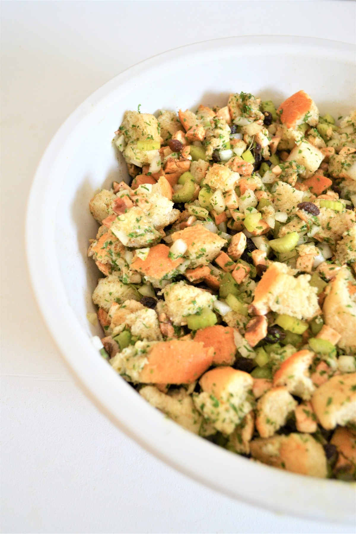 Turkey Stuffing Recipe - ready to cook