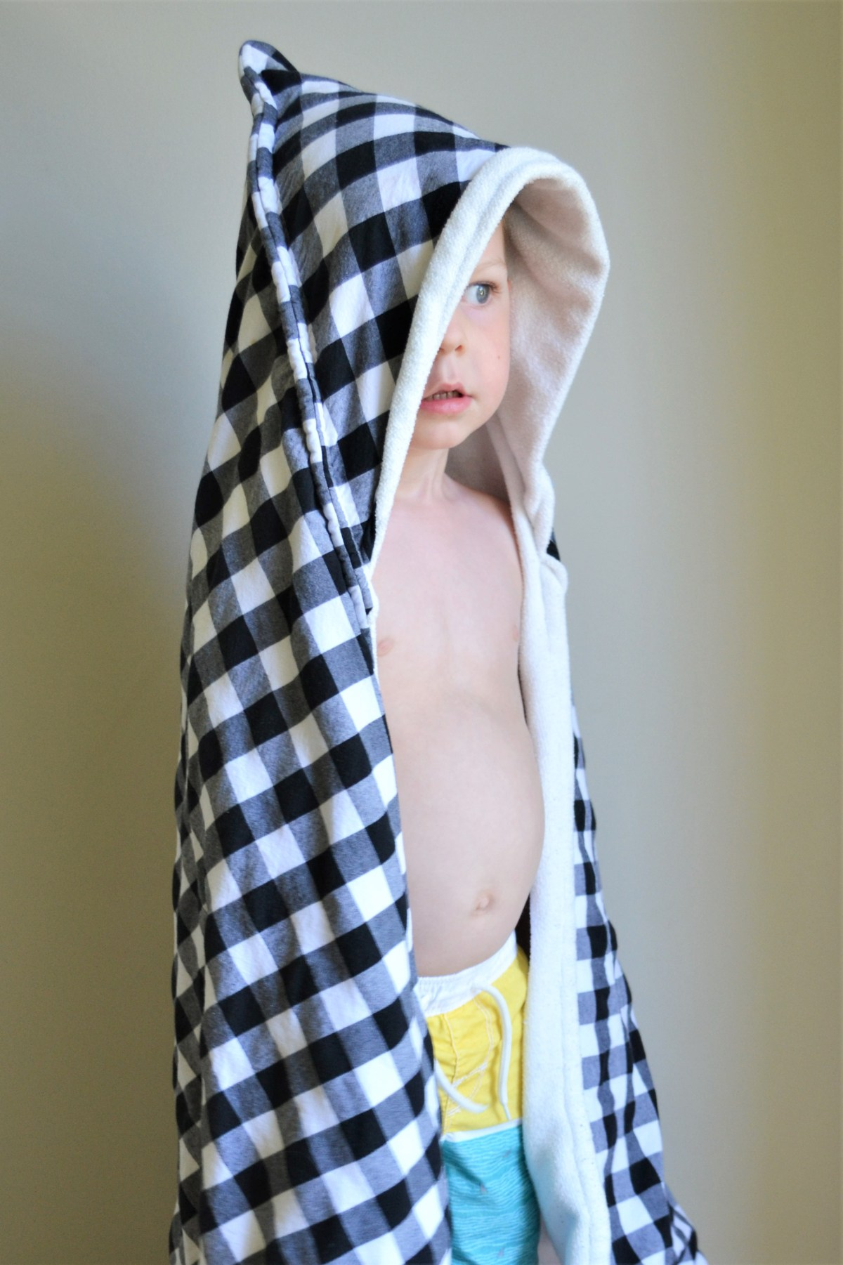 How To Make Hooded Towels For Kids! - toddler hooded towel