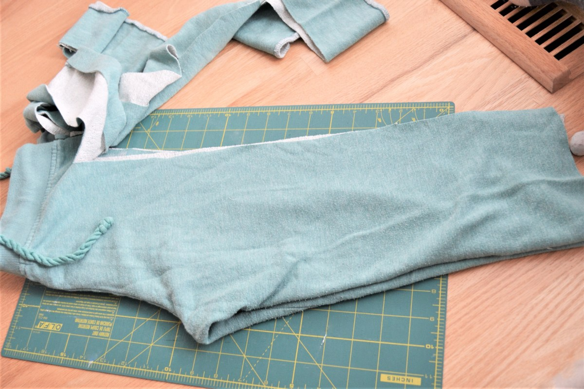 Toddler Boy Grow-With-Me-Pants Tutorial - step 3