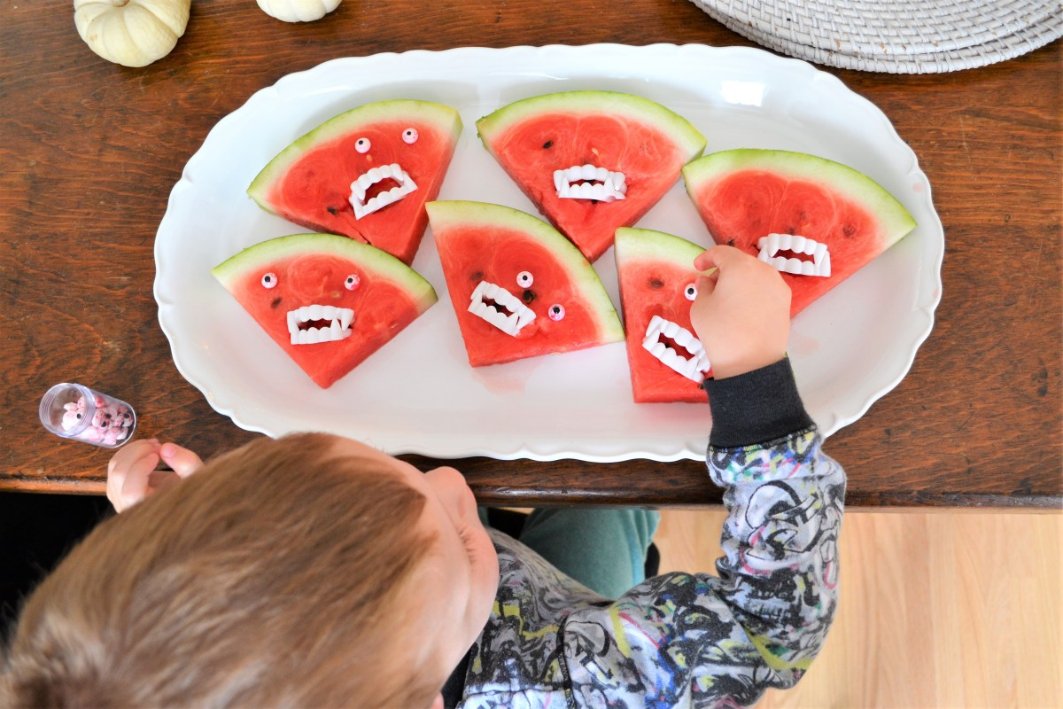 Watermelon Monsters! - Eyeball Placement