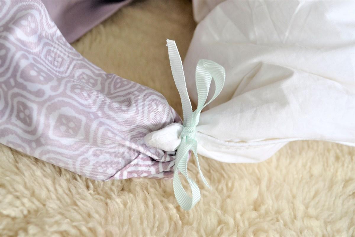 How To Prevent A Shifty Duvet Diy Duvet Cover Corner Ties