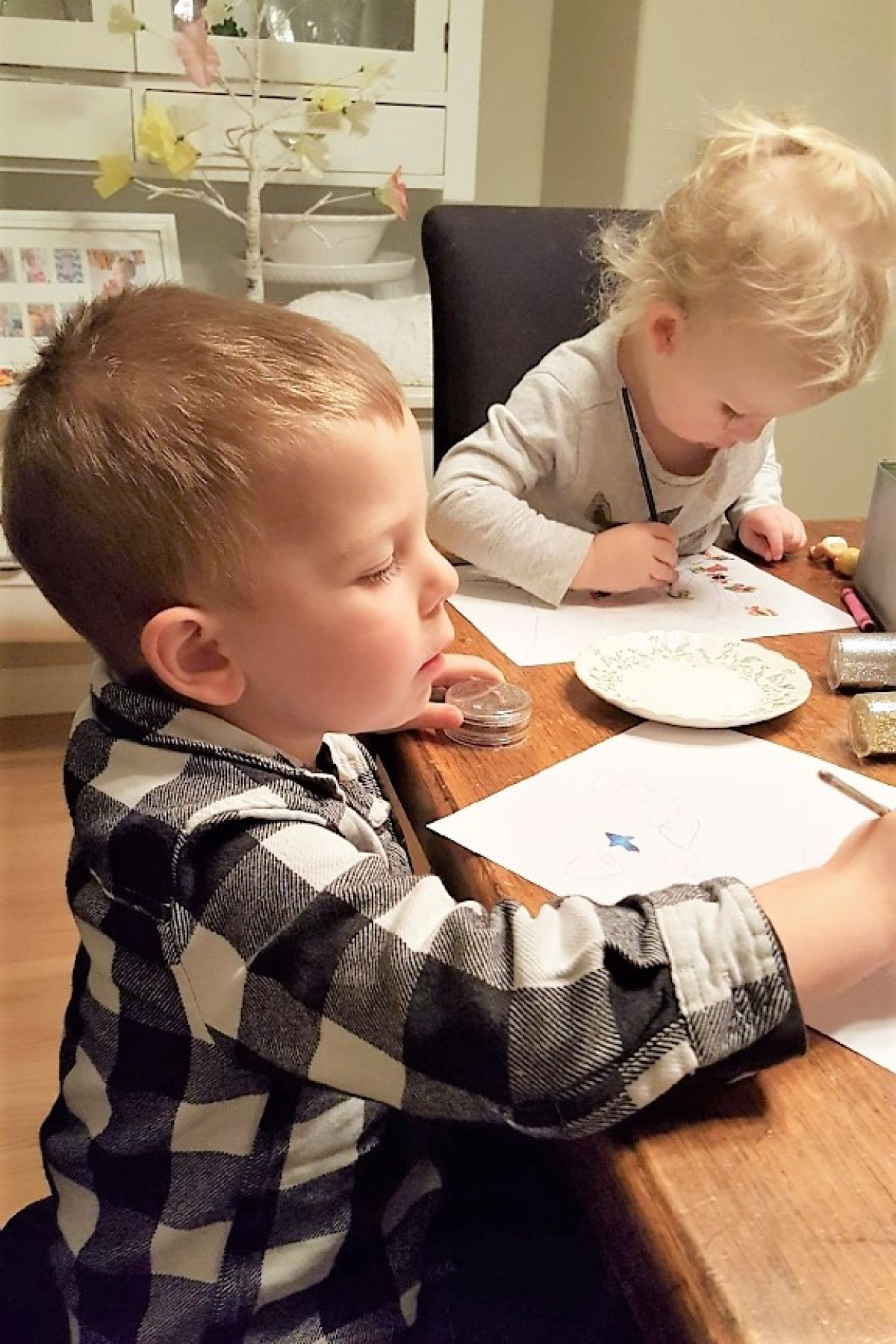 Write a Letter to Santa - hard at work