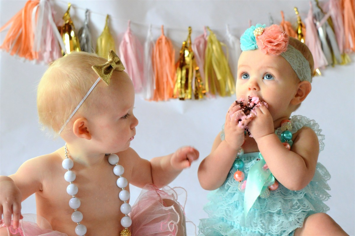Tassel Garland Inspiration! - baby cake smash backdrop