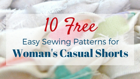 10 Free Womans Casual Shorts Sewing Patterns Round Up Making