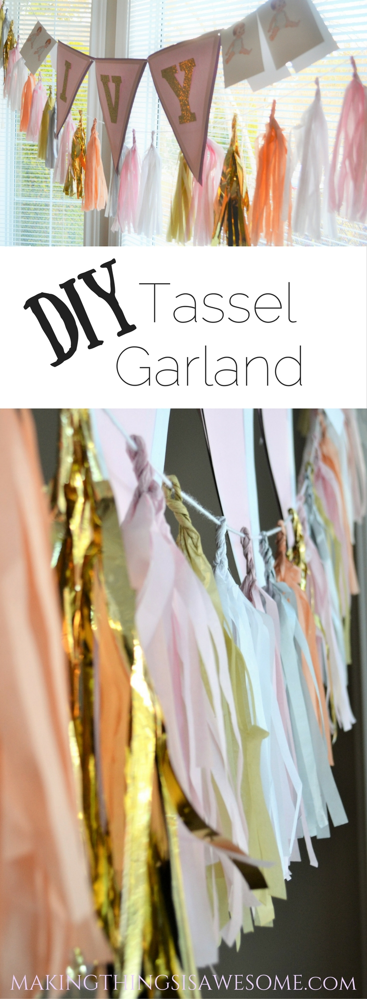 Tassel Garland Inspiration! - pin