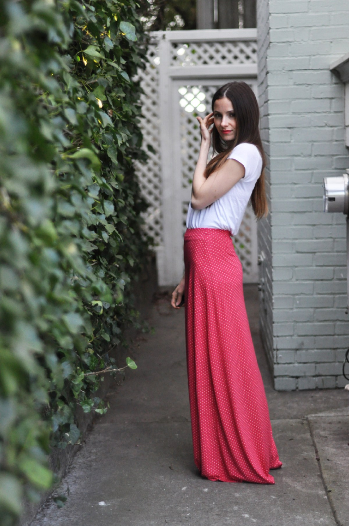 10 Free DIY Skirt Sewing Patterns - Wedding Guest Friendly Skirts! - Quick A-Line Maxi Skirt Tutorial - from Cotton & Curls